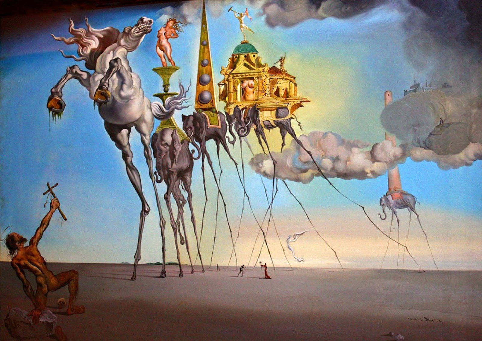 Surrealism in the Art of Dali. Salvador Dali was a leading 20th ...