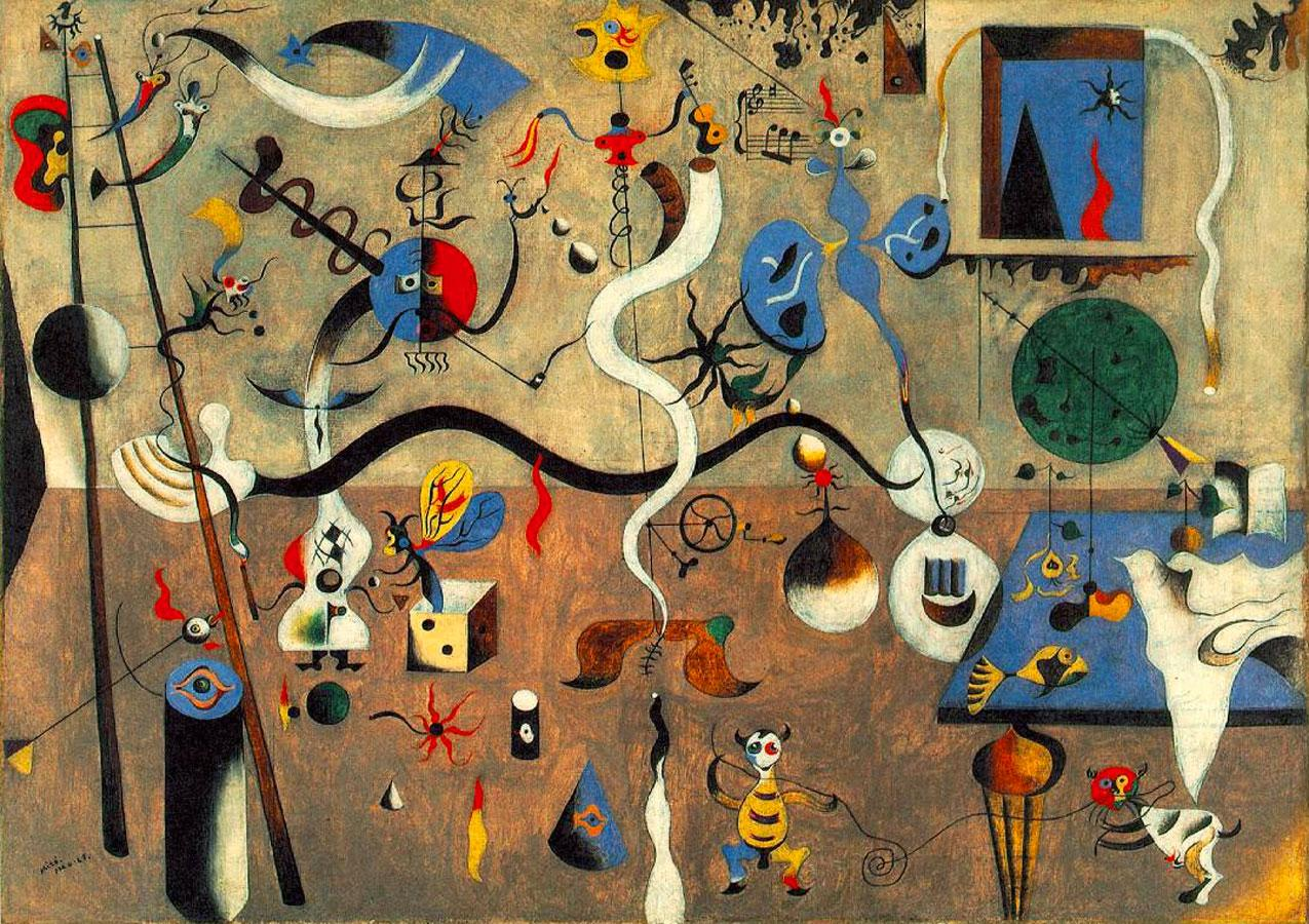 Joan Miró (1893-1983) | Surrealist painter / sculptor | Page 2 ...